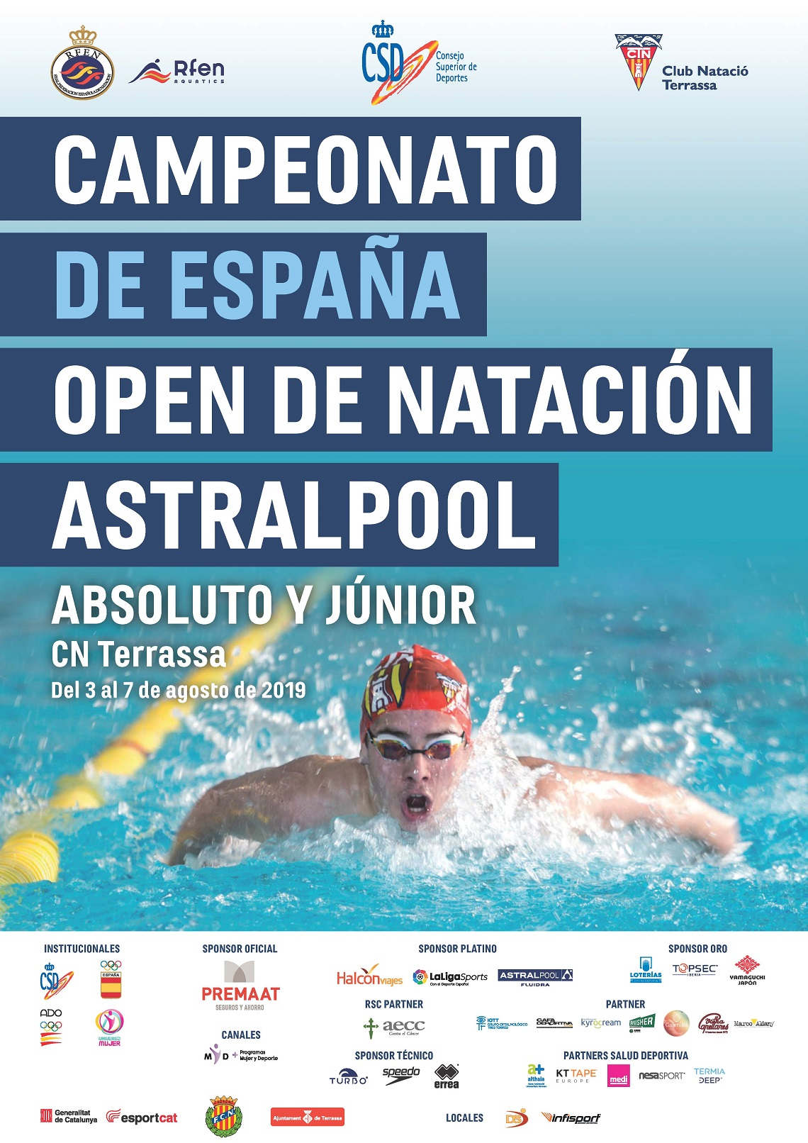 CTO. DE ESPAÑA OPEN ABSOLUTO Y JUNIOR DE VERANO – ASTRALPOOL