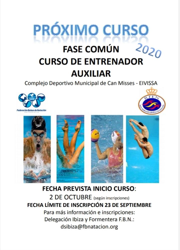 CONVOCTORIA CURSO EIVISSA - ENTRENADOR AUXILIAR (FASE COMÚN)