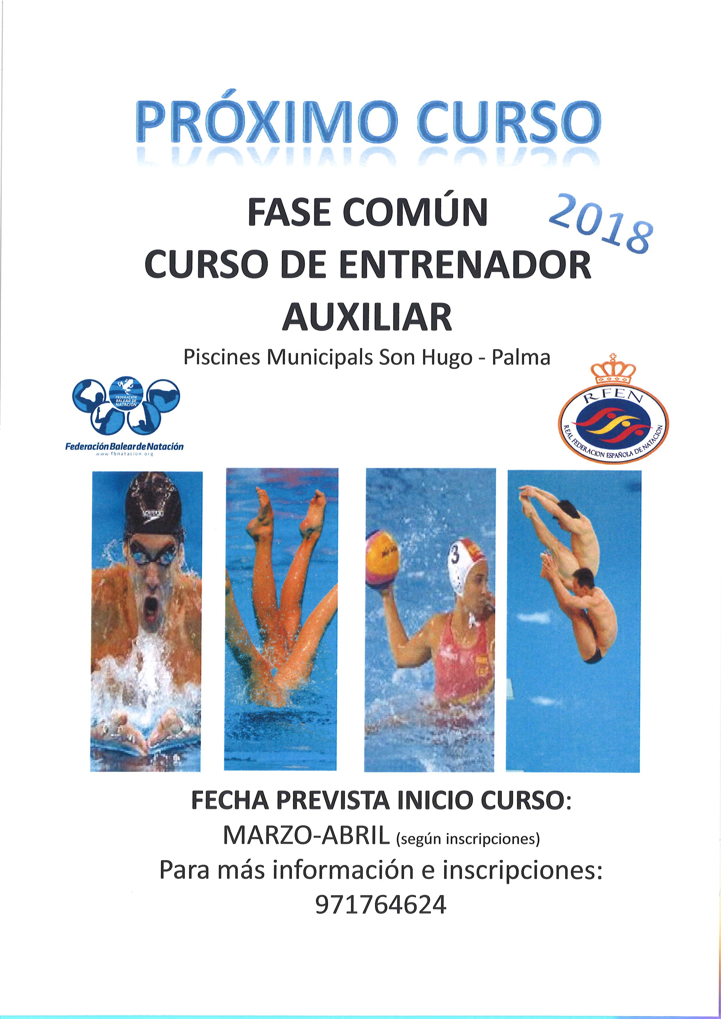 NUEVA CONVOCATORIA CURSO DE FORMACIÓN