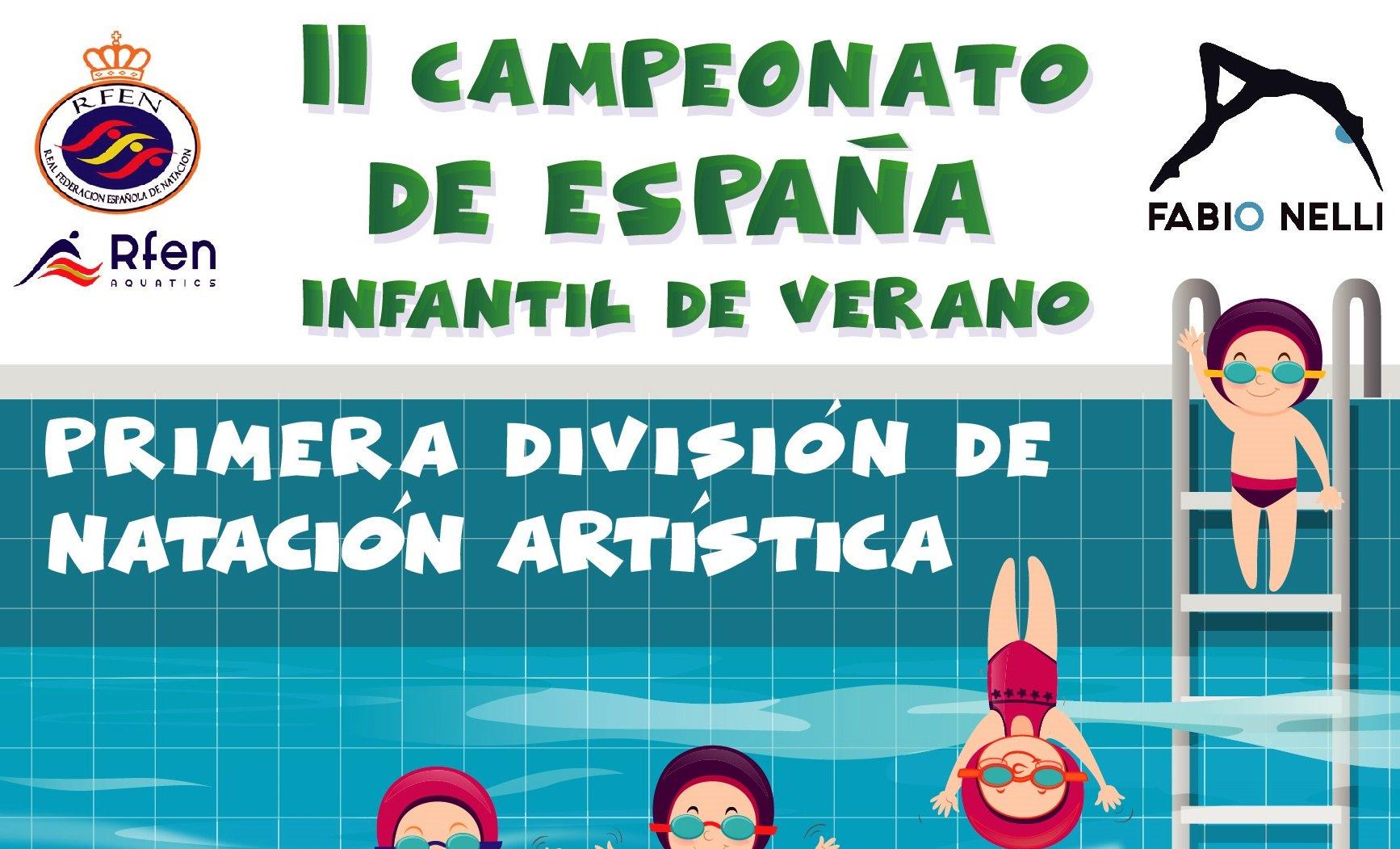 II CAMPEONATO DE ESPAÑA INFANTIL DE VERANO - PRIMERA DIVISIÓN DE NATACIÓN