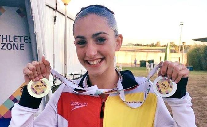 PARTICIPACIÓN DE SANDRA OLIVIERI (CAMPUSESPORT) EN LA COMEN CUP 2017