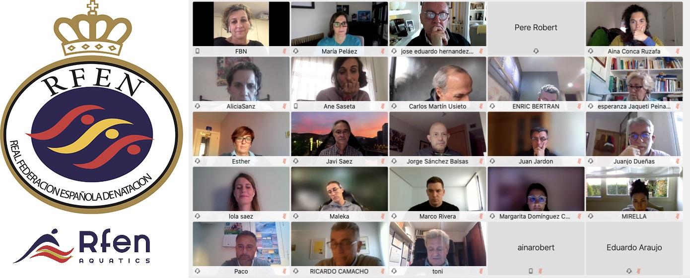 Contribución de la FBN al equipo directivo de la RFEN