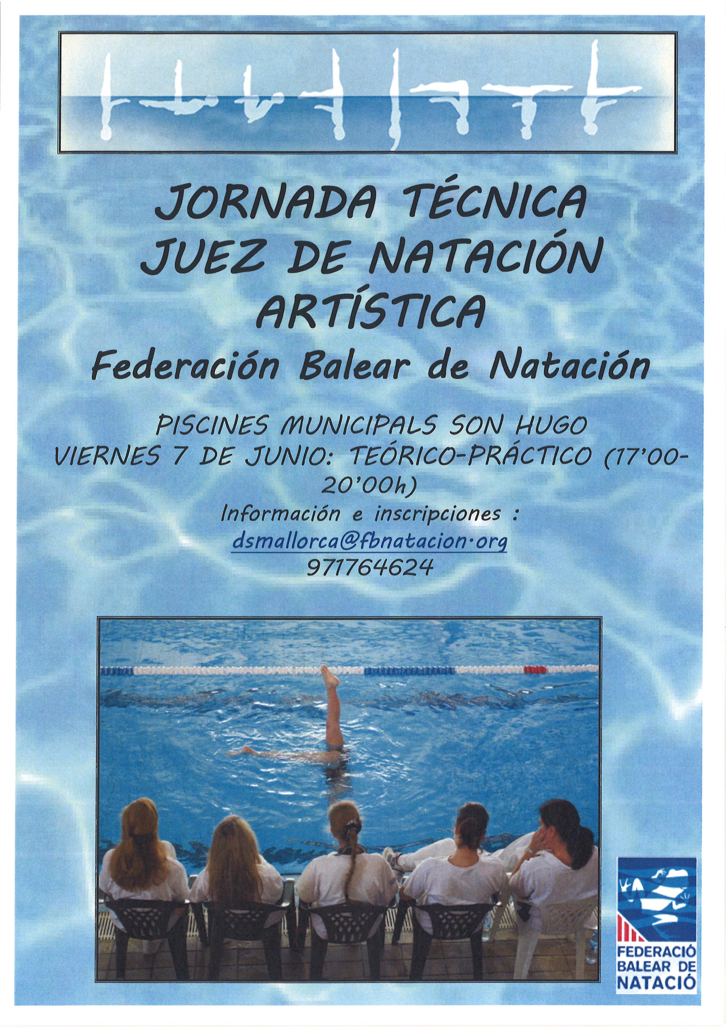 NUEVO CURSO DE JUEZ TERRITORIAL NATACIÓN ARTÍSTICA