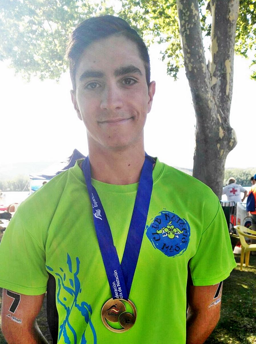 Joshua Torres (CN MAÓ) Campeón de España en Aguas Abiertas en la categoría premáster (hasta 25 años)
