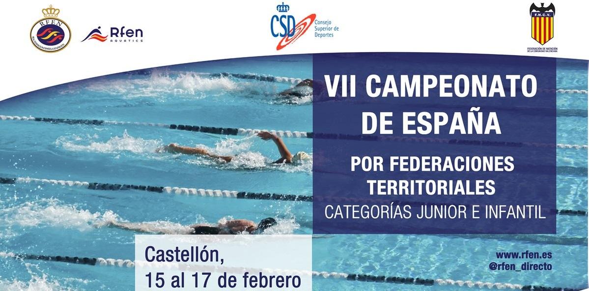 VII CTO DE ESPAÑA DE NATACIÓN POR FF.AA. JUNIOR-INFANTIL