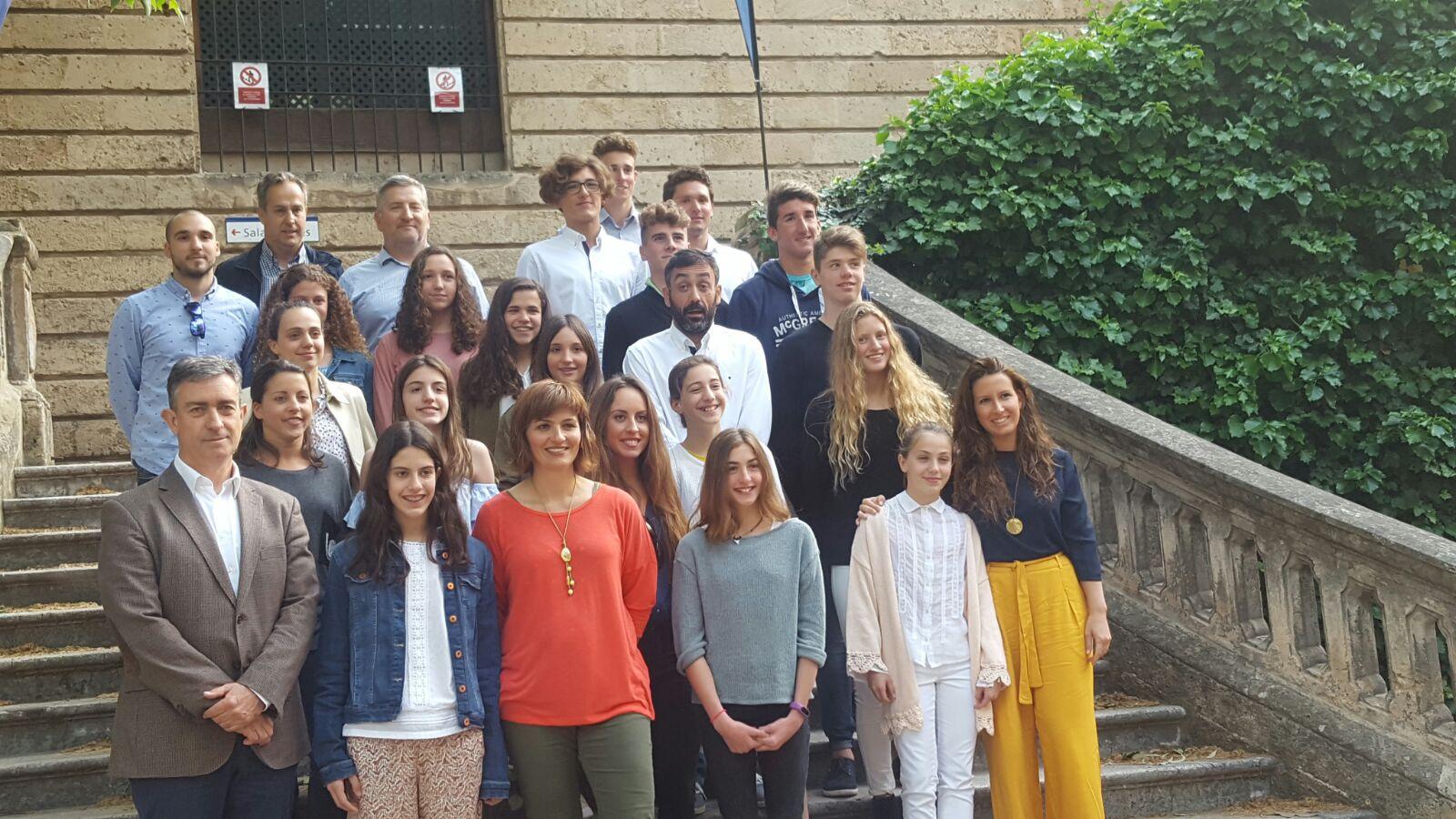 Esports reconeix els mèrits de 70 joves esportistes de Mallorca pels èxits assolits durant la passada temporada